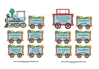 ten commandments crafts for preschoolers crafting